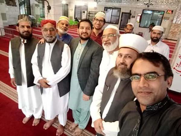 منہاج یوتھ لیگ کے مرکزی قائدین کی کراچی میں نماز عیدالاحضیٰ کی ادائیگی