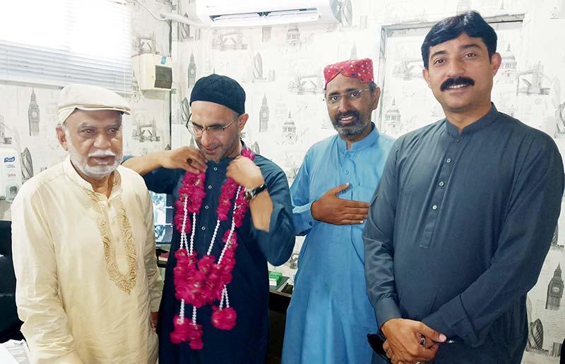 رہنما عوامی تحریک ڈاکٹر زبیر اے خان فریضہ حج کی ادائیگی کے بعد واپس وطن پہنچ  گئے