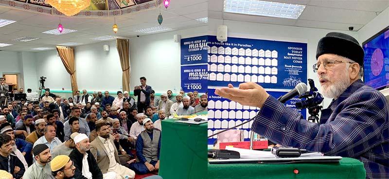 پاکستان کے عوام قدرتی ٹیلنٹ سے مالا مال ہیں: گلاسگو میں شیخ الاسلام ڈاکٹر محمد طاہرالقادری کی پاکستانی کمیونٹی سے گفتگو