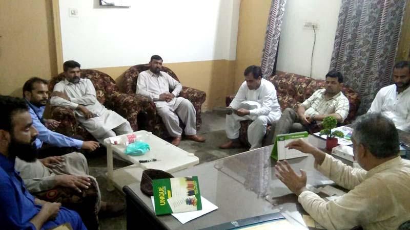 تحریک منہاج القرآن پی پی 179 کا اجلاس