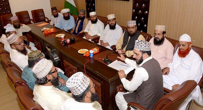 دور حاضر کے مسائل کا حل دور فاروقی رضی اللہ عنہ میں موجود ہے: منہاج القرآن  علماء کونسل