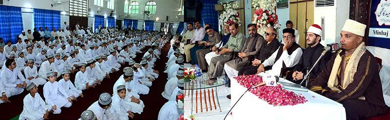 منہاج القرآن کے ذیلی ادارے تحفیظ القرآن میں بین الاقوامی محفل حسن قرآت