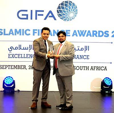 ڈاکٹر حسین محی الدین کیلئے GIFA کی طرف سے گلوبل اسلامک ایوارڈ