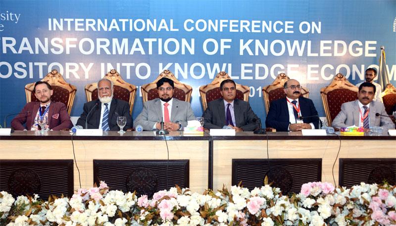 منہاج یونیورسٹی لاہور کے زیراہتمام لائبریری سائنسز اور نالج اکانومی کے موضوع پر دورہ روزہ انٹرنیشنل کانفرنس