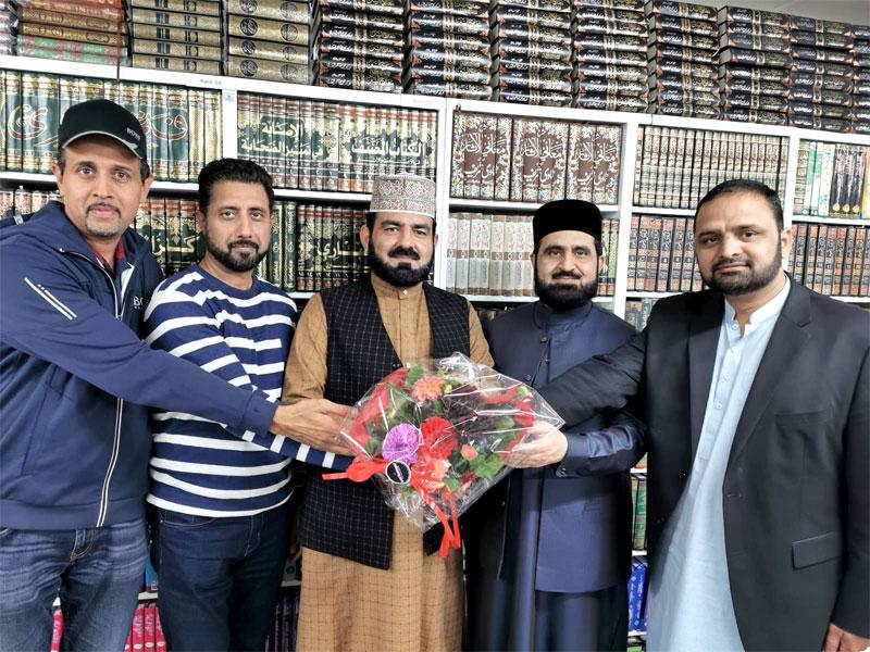 منہاج ایجوکیشن بورڈ ڈنمارک کی طرف سے علامہ محمد اعجاز ملک کے اعزاز میں استقبالیہ تقریب