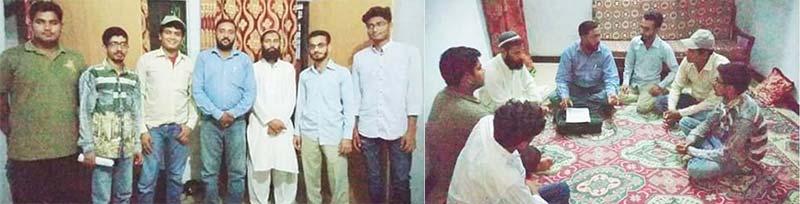 منہاج یوتھ لیگ کراچی کے قائدین کا گڈاب ٹاؤن کا تنظیمی دورہ