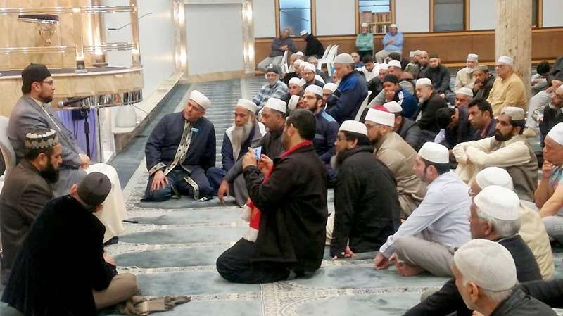 ڈاکٹر حسین محی الدین قادری کا کیپ ٹاؤن کی مرکزی مسجد القدس میں خطاب