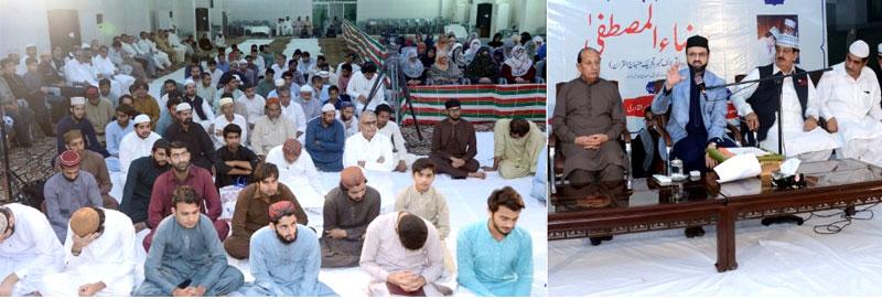 مرکزی سیکرٹریٹ میں منہاج القرآن کے لائف ممبر جواں سال رضا المصطفیٰ کی یاد میں تعزیتی ریفرنس