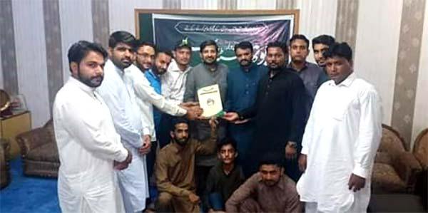 جہلم میں یوتھ سٹڈی سرکل کا افتتاح