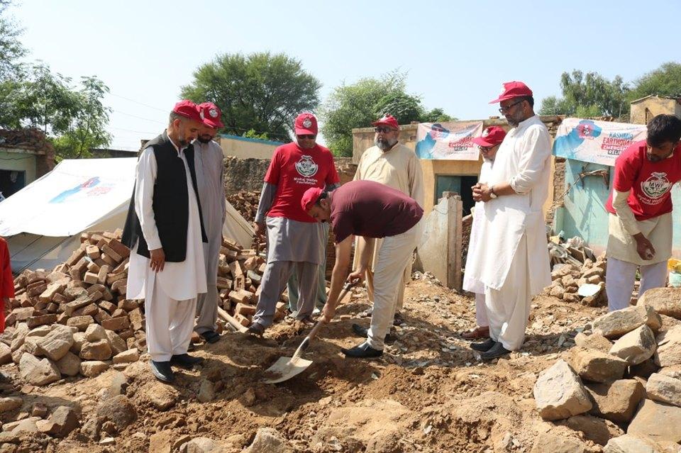 منہاج القرآن نے متاثرین زلزلہ کی مستقل بحالی کے پروگراموں کا آغاز کر دیا