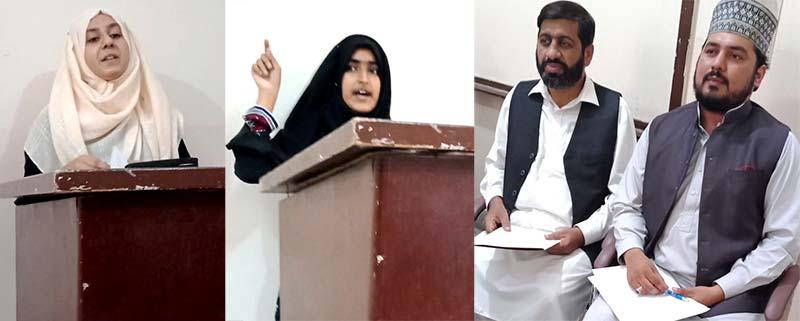 نظامت تربیت کی مرکزی اکیڈمی آف اسلامک سائنسز میں فن خطابت کی اختتامی تقریب