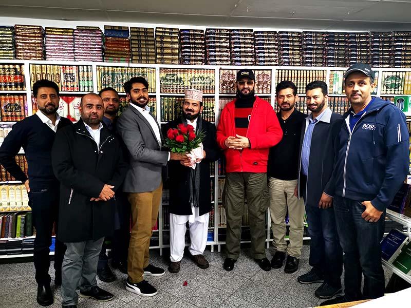 ڈائریکٹر منہاج القرآن ویلبی علامہ محمد اعجاز ملک کے اعزاز میں استقبالیہ ڈنر