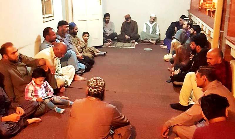 منہاج القرآن انٹرنیشنل فری اسٹیٹ ساؤتھ افریقہ کے زیراہتمام ماہانہ حلقہ درود کا آغاز