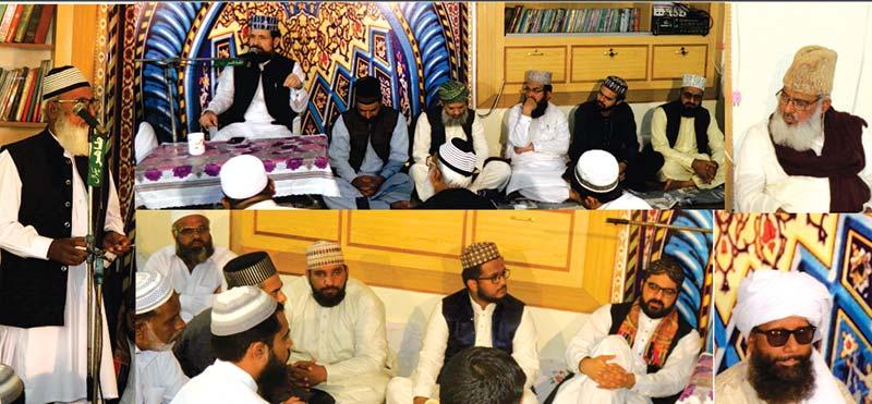 چکوال: منہاج القرآن کے ناظم تربیت علامہ محمد احمد رضا خان کا چہلم