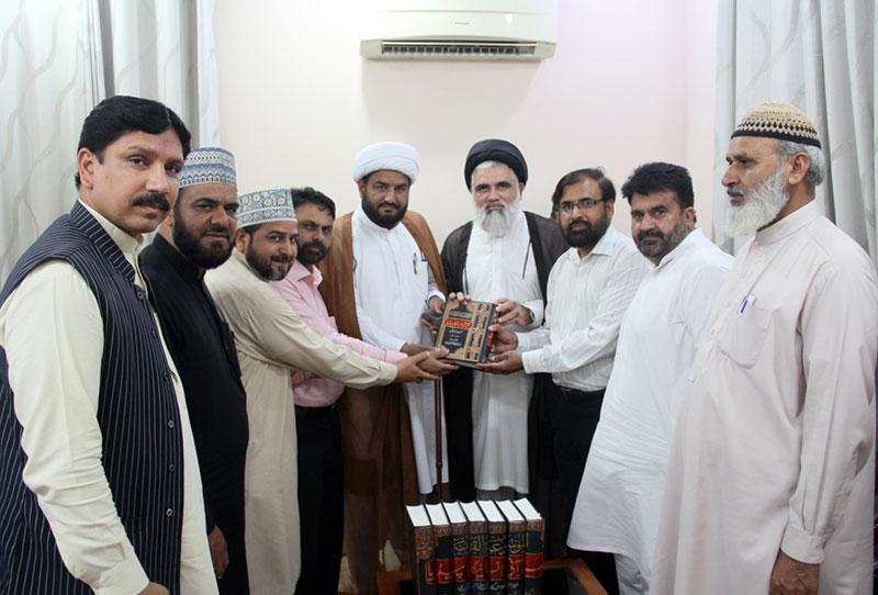 تحریک منہاج القرآن کے وفد کا جامعہ عروۃ الوثقیٰ کا دورہ