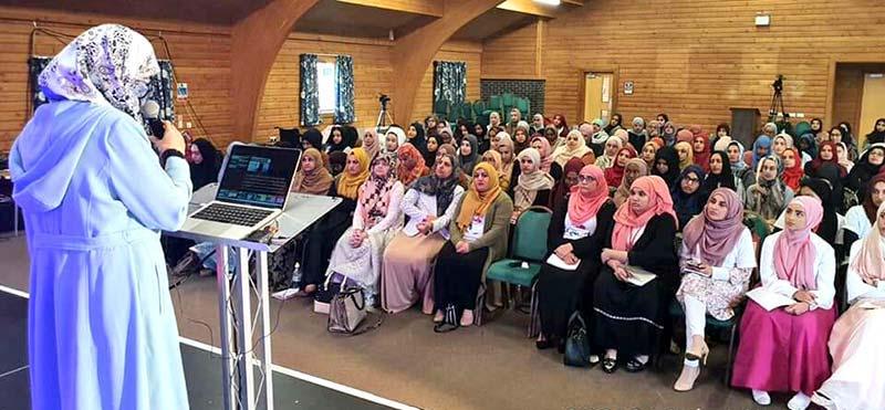 Minhaj Sisters UK holds Al-Tazkiya camp 2019 - Day 2