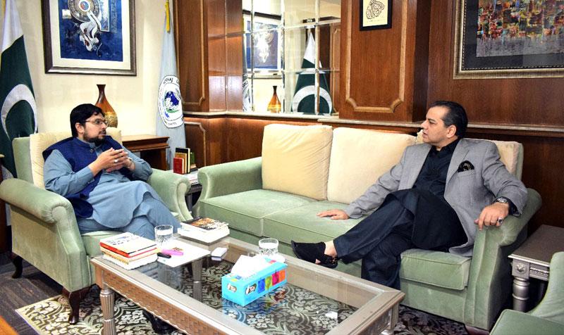 Provincial Education Minister Murad Raas visits MUL & MES