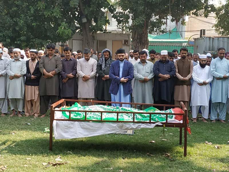 منہاج القرآن کے دیرینہ رفیق محمد حفیظ اللہ انتقال کر گئے