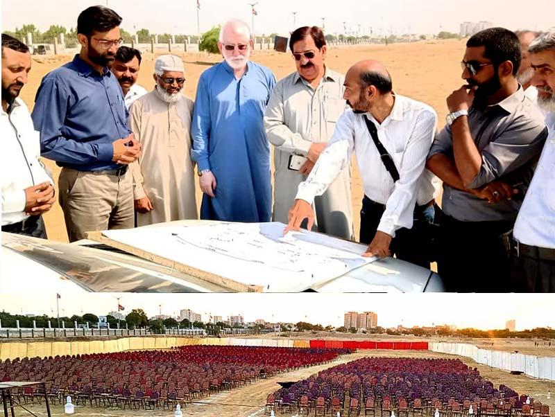 منہاج القرآن کراچی کے زیراہتمام میلاد کانفرنس کی تیاریاں مکمل