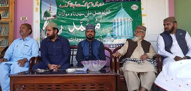 منہاج القرآن راجن پور کے زیراہتمام محفل میلاد