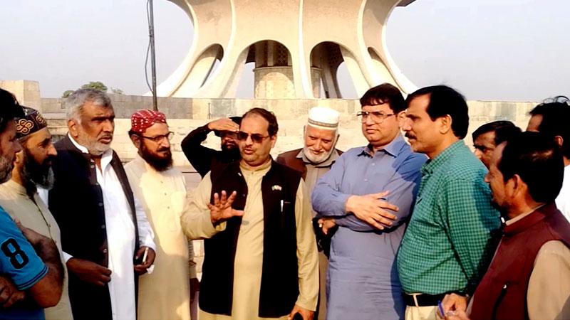 منہاج القرآن کے مرکزی رہنماؤں کا مینار پاکستان کا دورہ، عالمی میلاد کانفرنس کے انتظامات کا جائزہ