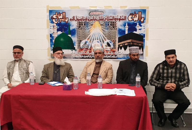 کینیڈا: منہاج القرآن کے زیراہتمام ملٹن میں محفل میلاد النبی ﷺ کا انعقاد