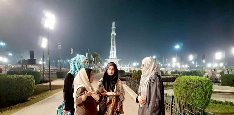MWL delegation visits Minar-e-Pakistan to inspect arrangements
