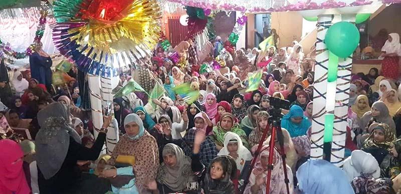 منہاج القرآن ویمن لیگ یوسی کوٹلہ فقیر جہلم کے زیراہتمام سالانہ محفل میلاد