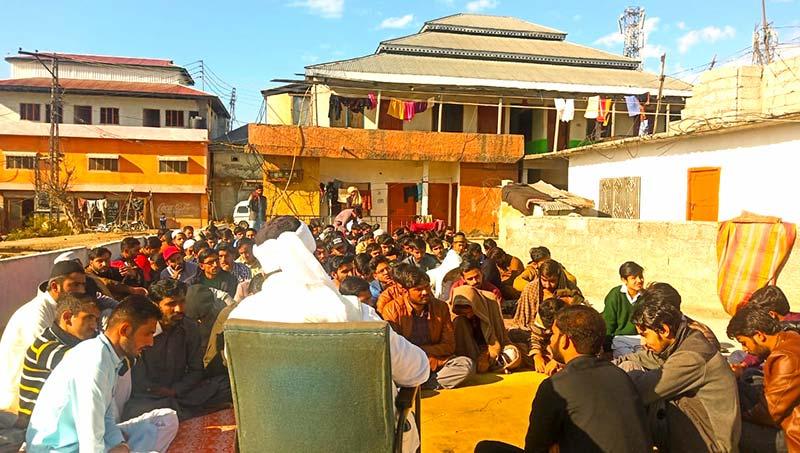 ایم ایس ایم جامعہ پونچھ راولاکوٹ کشمیر کے زیراہتمام محفل میلاد