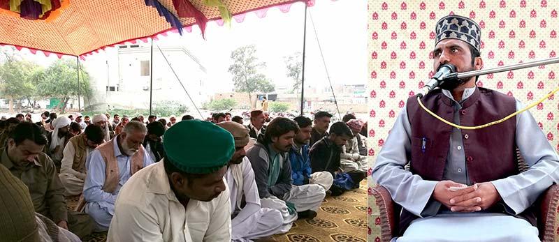 تحریک منہاج القرآن راجن پور کے سابق ضلعی امیر عاشق علی فریدی مرحوم کے لیے تعزیتی تقریب