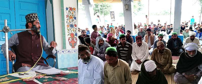 تحریک منہاج القرآن راجن پور کے زیراہتمام میلاد کانفرنس