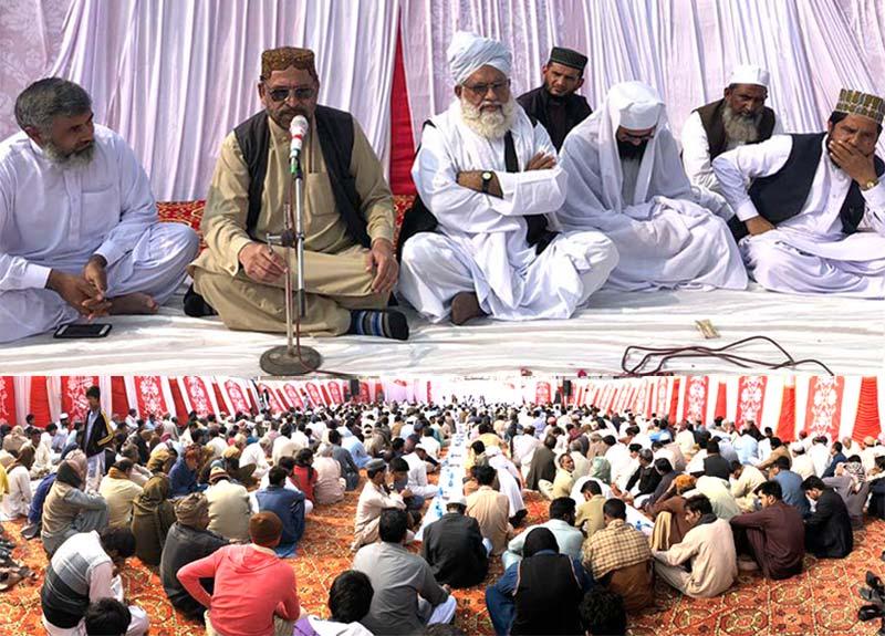 تحریک منہاج القرآن لودھراں کے ضلعی صدر چوہدری عبدالغفار سنبل کے والد گرامی کی قل خوانی