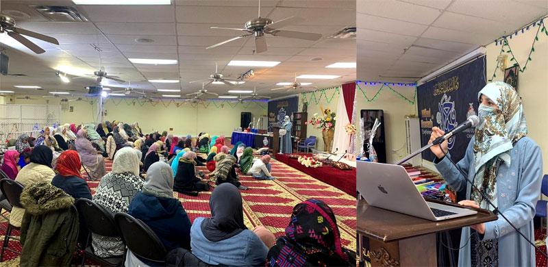 Canada: Dr. Ghazala Hassan Qadri addressed Mawlid-un-Nabi ﷺ conference organized by Minhaj-ul-Quran Women League