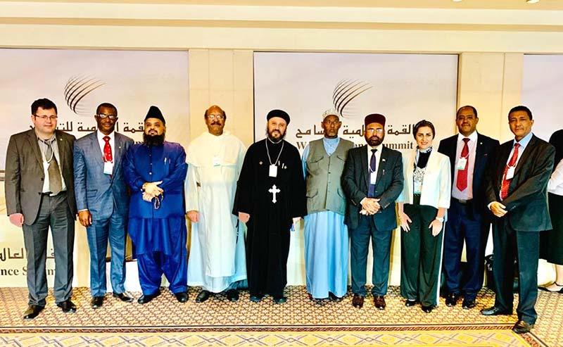 ڈائریکٹر انٹرفیتھ ریلیشنز سہیل احمد رضا کی دبئی میں World Tolerance Summit 2019 میں شرکت