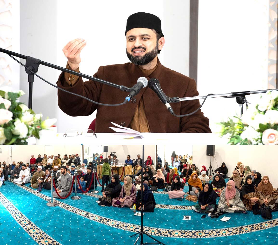 ہالینڈ: ڈاکٹر حسن محی الدین قادری کا الہدایہ کیمپ میں خطاب