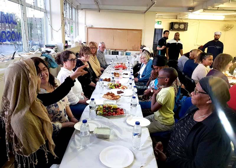 Minhaj Sisters Walsall Organized Community Iftar for Christians
