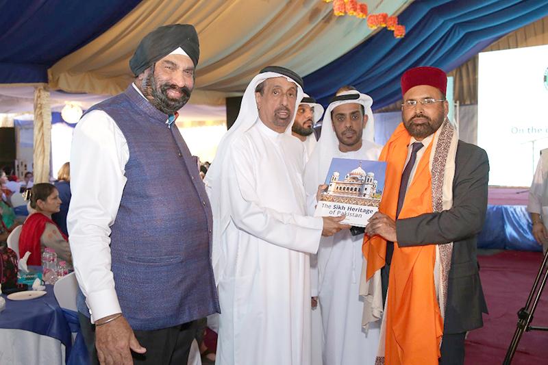 دبئی: ڈائریکٹر منہاج انٹرفیتھ ریلیشنز کی بابا گرو نانک کی 550ویں سالگرہ کی تقریب میں شرکت