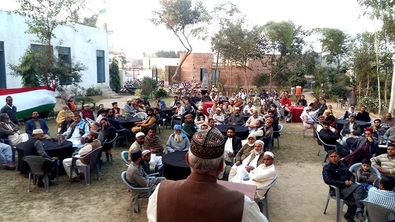 تحریکِ منہاج القرآن حافظ آباد پی پی 70 کے انتخابات، بشیر احمد رحمانی صدر، نعمان شہزاد زرگر ناظم منتخب