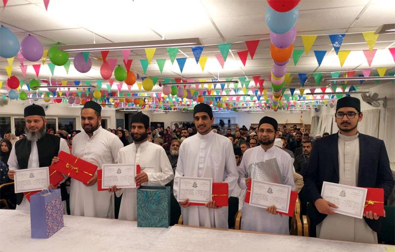 نظامت تعلیمات منہاج القرآن انٹرنیشنل ڈنمارک کے زیراہتمام الشھادۃالثانویہ کی تکمیل پر کانووکیشن کا انعقاد