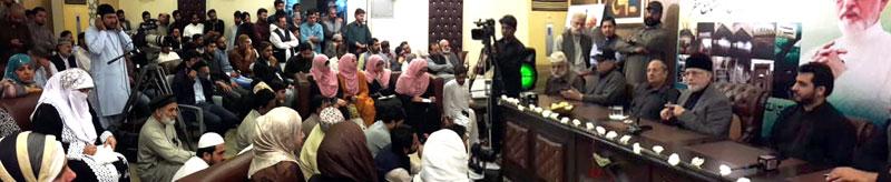Women education critical to achieving national development goals: Dr Tahir-ul-Qadri