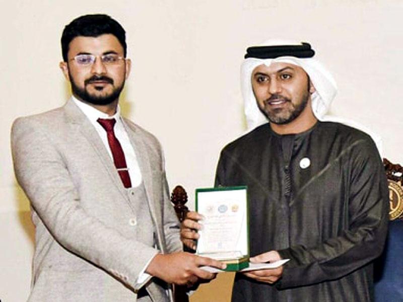 منہاج یونیورسٹی کے طالبعلم کا اعزاز، عربی تقریری مقابلہ میں پہلی پوزیشن