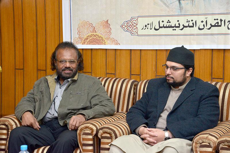 خطاط مسجد نبوی شریف استاد شفیق الزماں 26 دسمبر کو منہاج یونیورسٹی کا دورہ کرینگے