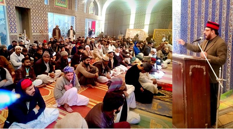 دین اسلام انفرادی اور اجتماعی زندگیوں میں مکمل رہنمائی فراہم کرتا ہے: عین الحق بغدادی