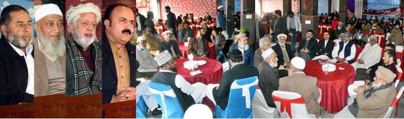 منہاج القرآن کے زیراہتمام 7 جوڑوں کی شادیوں کی اجتماعی پر وقار تقریب