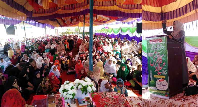Muzaffarabad: Minhaj-ul-Quran Women League organizes Seerah Conference