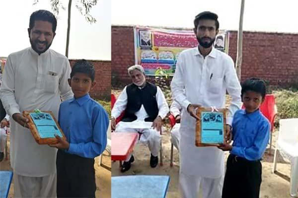 منہاج یوتھ لیگ حافظ آباد کے زیراہتمام سکول کے بچوں میں یونیفارم کی تقسیم
