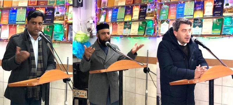 منہاج القرآن انٹرنیشنل یونان کے زیرِاہتمام کرسمس اور قائد ڈے تقریب
