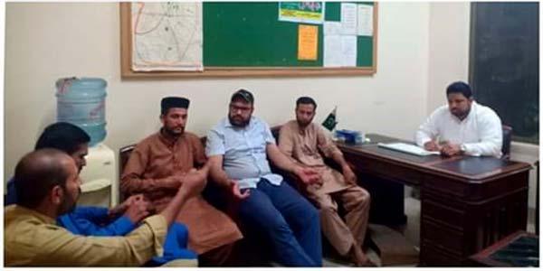 منہاج یوتھ لیگ لاہور کی کیبنٹ ممبران کا مشاورتی اجلاس