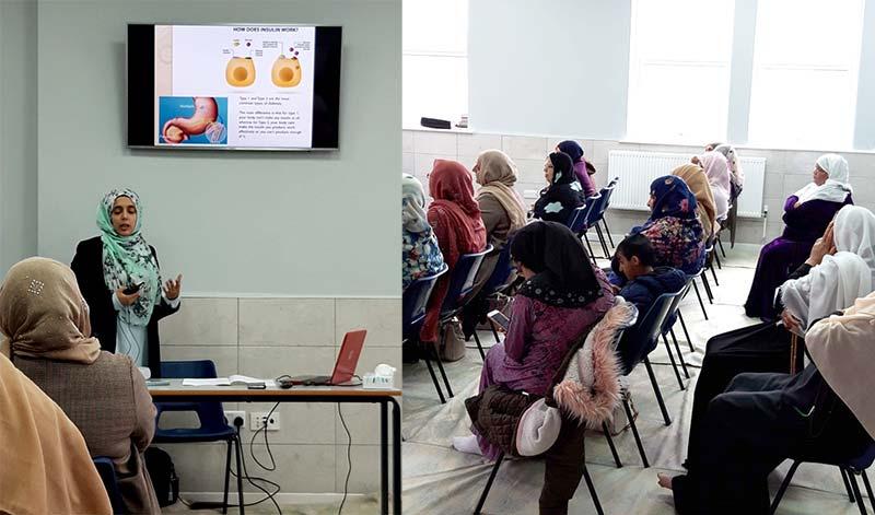 MWL Nelson held a health educational workshop