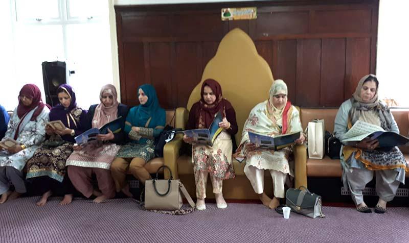 MWL Tinsley held a weekly Halqa Durood